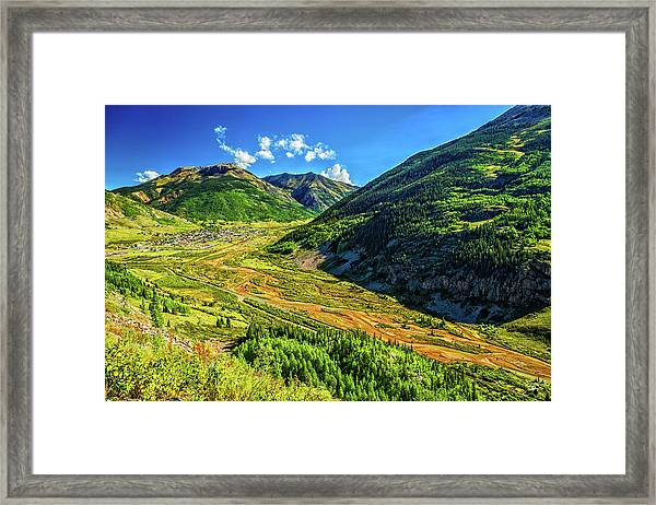 Silverton Colorado Framed Print