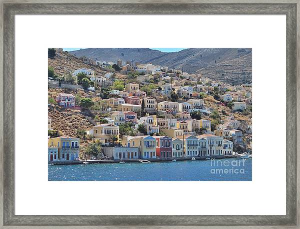 Simi Framed Print