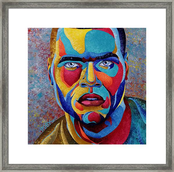 Simply Complex Framed Print
