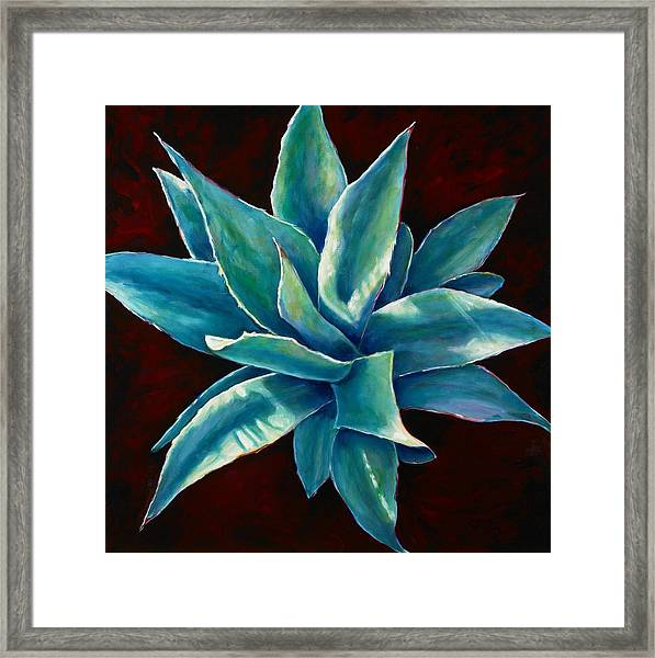 Simply Succulent Framed Print