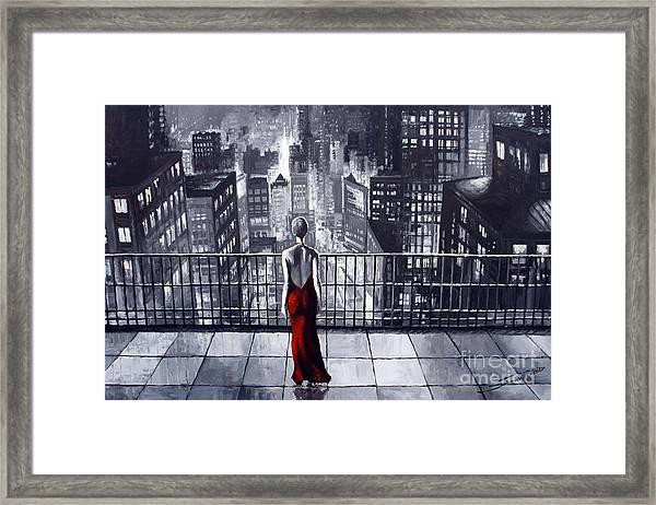 Sincity Framed Print