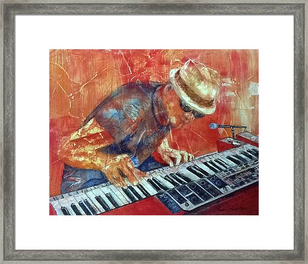 Sing Us A Song Framed Print
