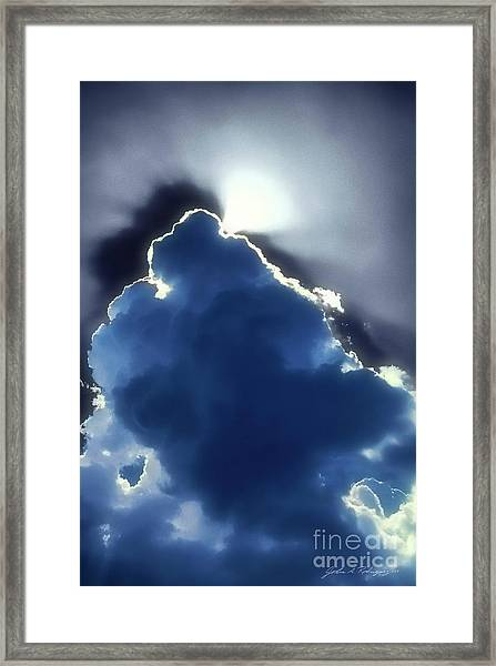 Singing Out Framed Print