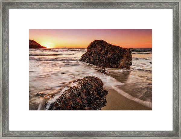 Singing Water, Singing Beach Framed Print
