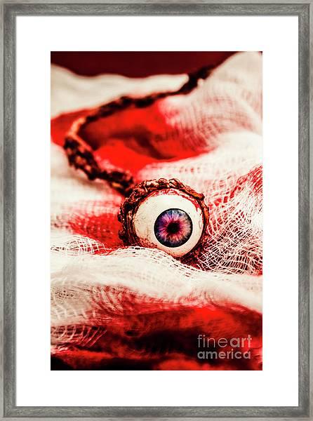 Sinister Sight Framed Print