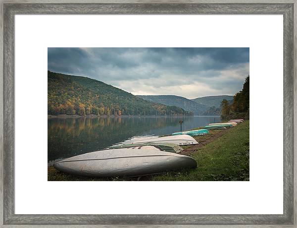 Sinnemahoning State Park Framed Print