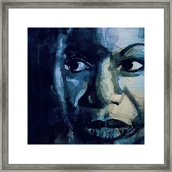 Sinnerman - Nina Simone Framed Print