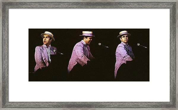 Sir Elton John 3 Framed Print