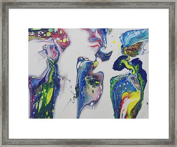 Sirens Of The Seas Framed Print