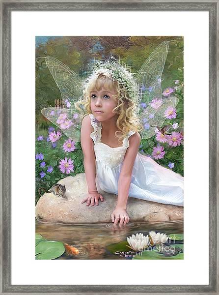 Sissy Fairy Framed Print
