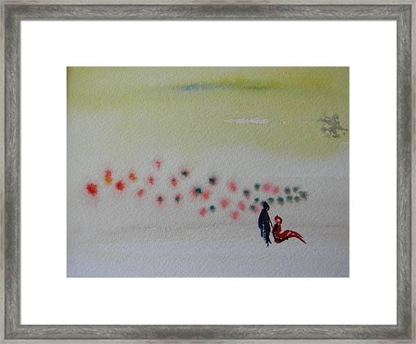 Six Seasons Dance Four Framed Print