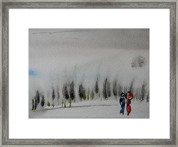 Six Seasons Dance Three Framed Print