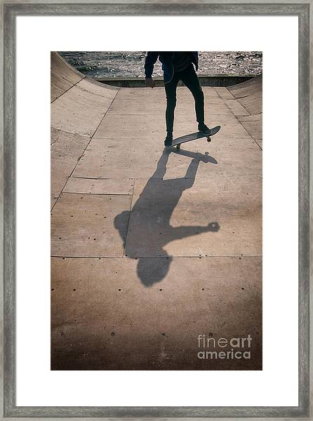 Skater Boy 002 Framed Print