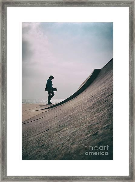 Skater Boy 006 Framed Print