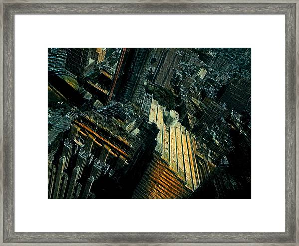 Skewed View Framed Print