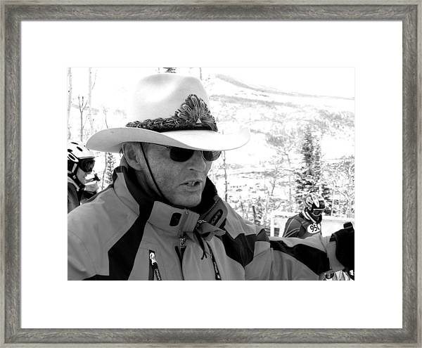 Ski Legend Billy Kidd Framed Print