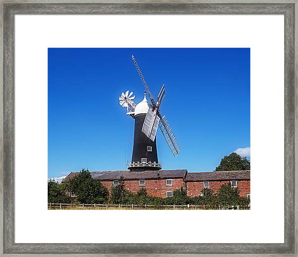 Skidby Mill East Yorkshire England Framed Print