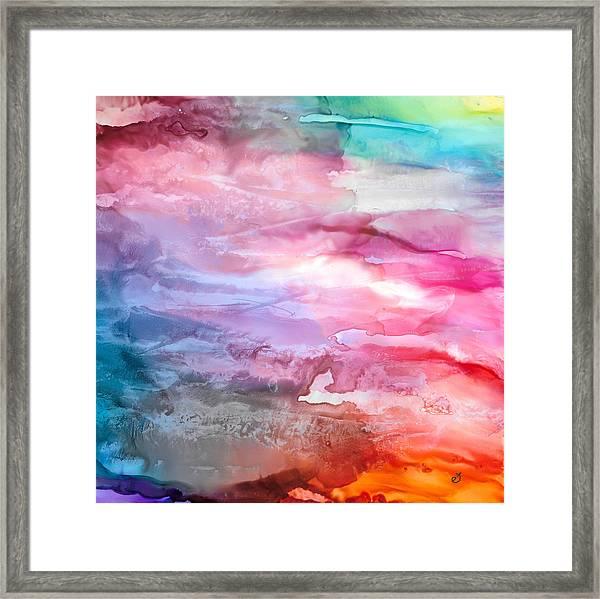 Skies Emotion Framed Print