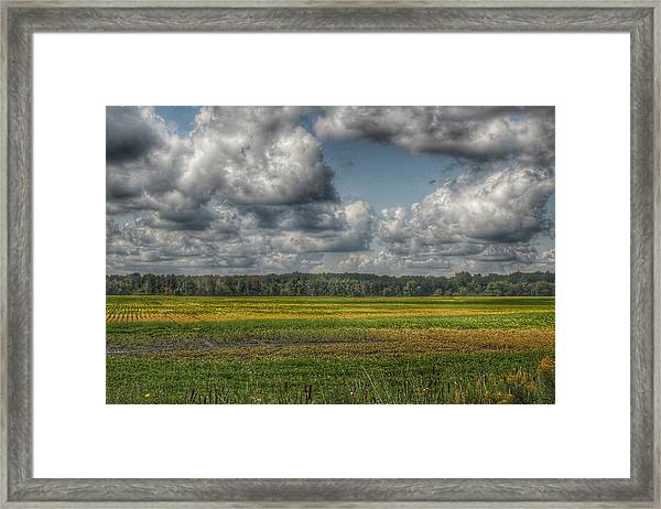 2006 - Skies Of September Framed Print