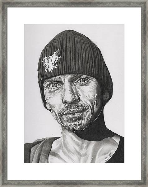 Skinny Pete  Breaking Bad Framed Print