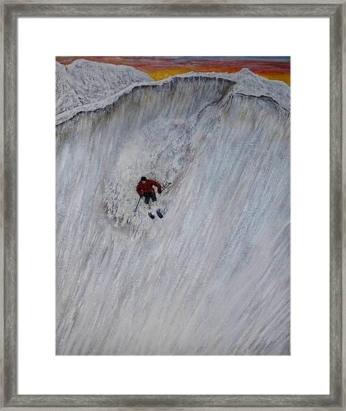 Skitilthend Framed Print
