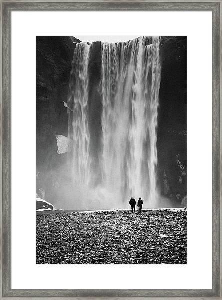Skogafoss Framed Print