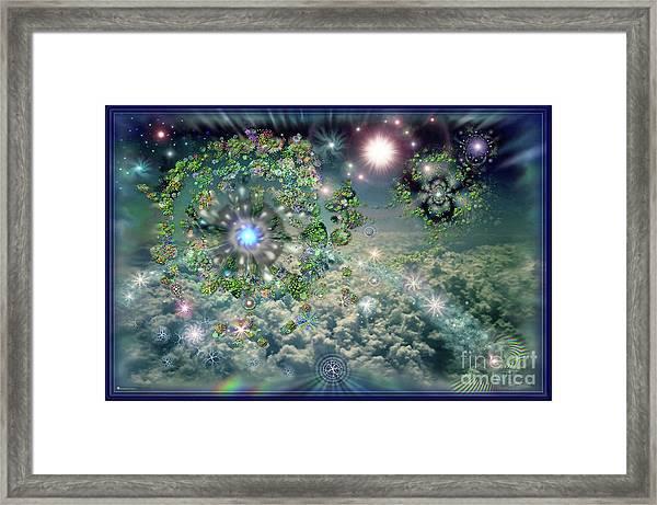 Sky 11-11 Framed Print