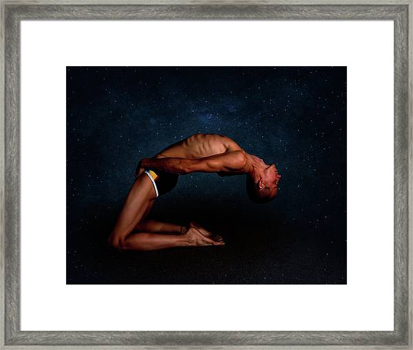 Framed Print featuring the photograph Sky Bones by Michael Taggart