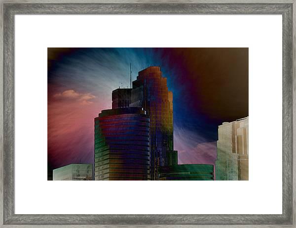 Sky Disruptors Framed Print by John Ricker