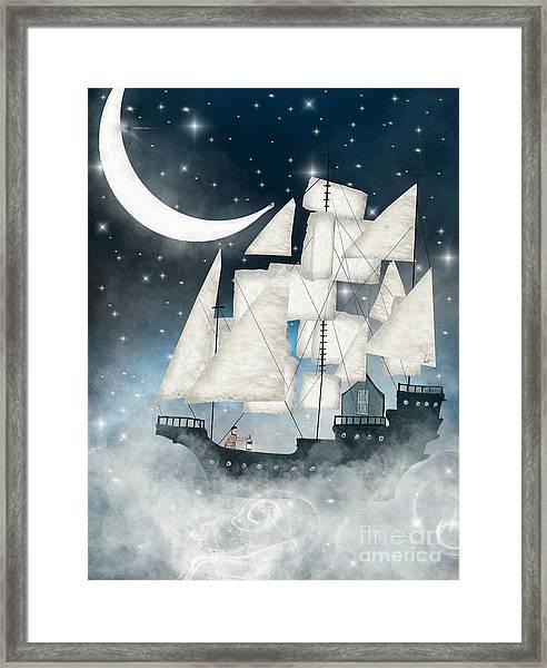 Sky Full Of Stars Framed Print