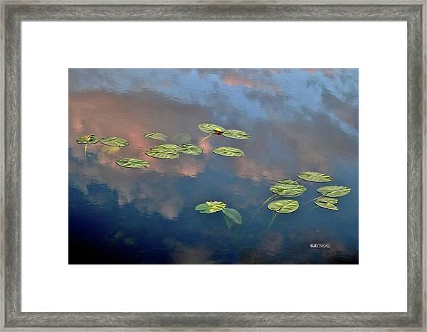 Sky Meets Water Framed Print