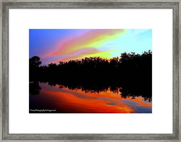 Sky Painting Framed Print