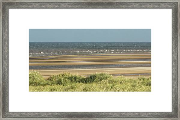 Sky, Sea, Sand, Sod... Framed Print