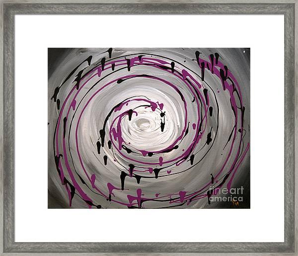 Sky Swirl Framed Print