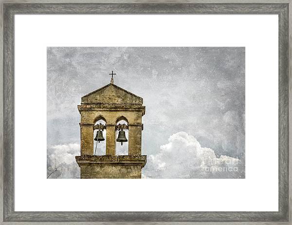 Skybells Framed Print