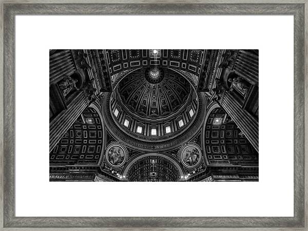 Skylights Framed Print