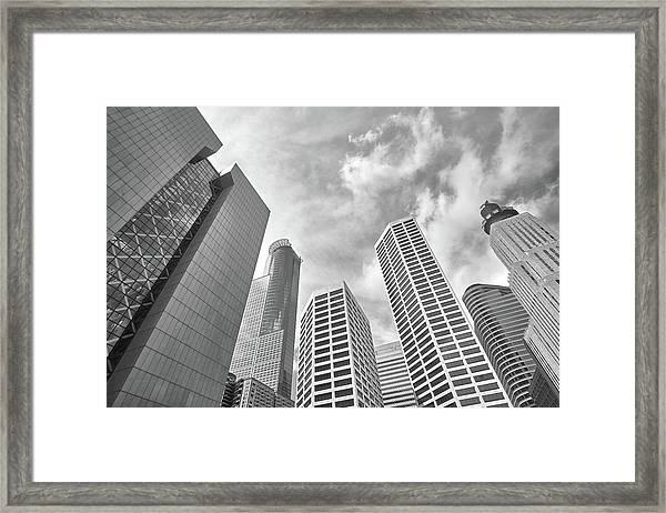 Skyline In Minneapolis, Minnesota Framed Print