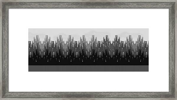 Skyline New York Framed Print