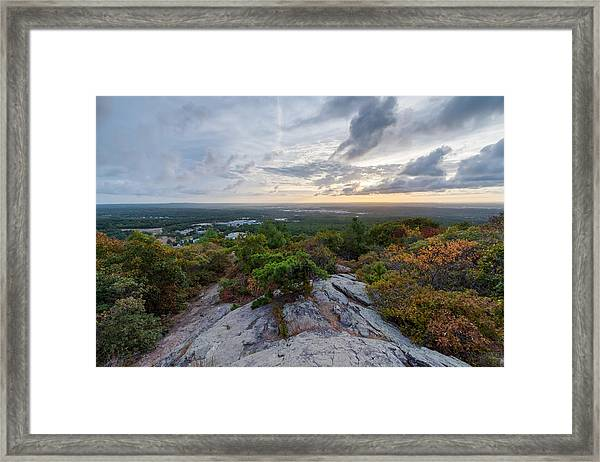 Skyline Trail Vista Framed Print
