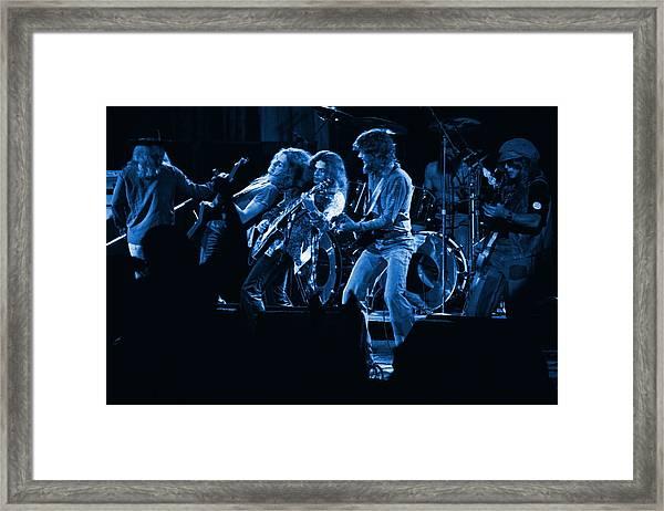 Blues In Spokane Framed Print