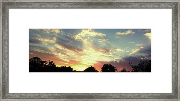 Skyscape Framed Print