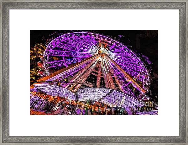 Skyview Atlanta Framed Print