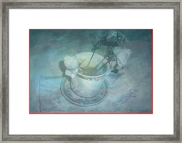 Skyworks 3 Rose Framed Print by Friedl Aigner