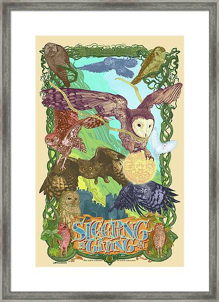 Sleepin Is Giving In Framed Print by Nelson Dedos Garcia