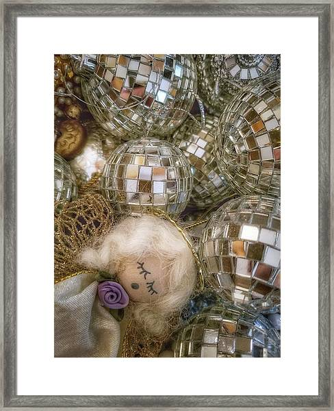 Sleeping Angel Framed Print