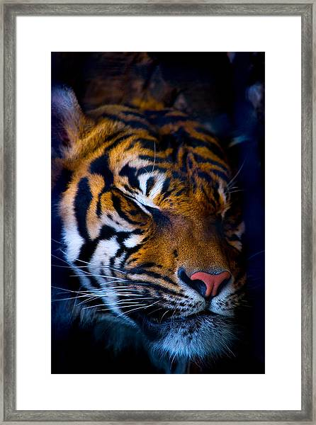Sleeping Giant Framed Print