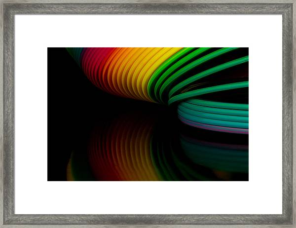 Slinky II Framed Print