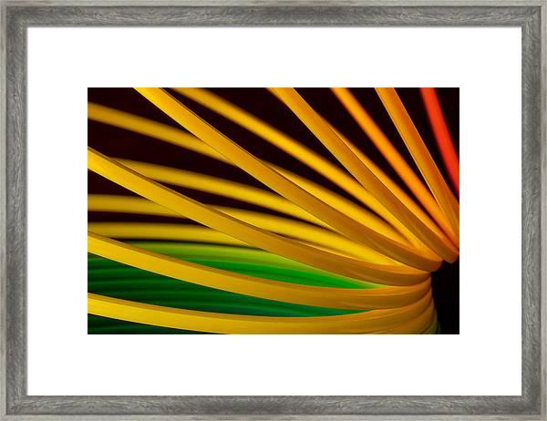 Slinky Iv Framed Print