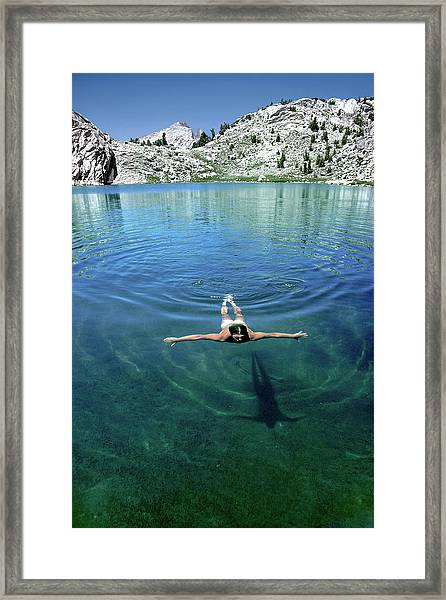 Slip Into Something Comfortable Framed Print