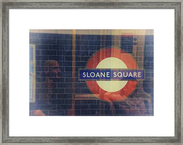 Sloane Square Portrait Framed Print
